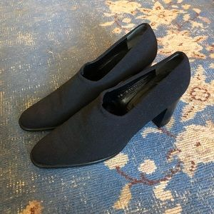 Robert Clergerie Minimalist Fabric Heels 9.5